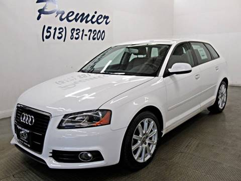 2013 Audi A3 for sale at Premier Automotive Group in Milford OH