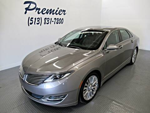 2015 Lincoln MKZ for sale at Premier Automotive Group in Milford OH