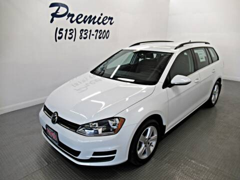 2015 Volkswagen Golf SportWagen for sale at Premier Automotive Group in Milford OH