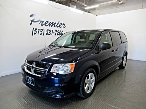 2013 Dodge Grand Caravan for sale at Premier Automotive Group in Milford OH