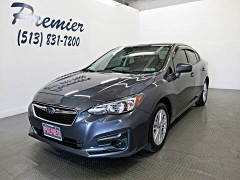 2017 Subaru Impreza for sale at Premier Automotive Group in Milford OH