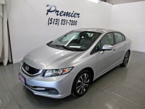 2015 Honda Civic for sale at Premier Automotive Group in Milford OH