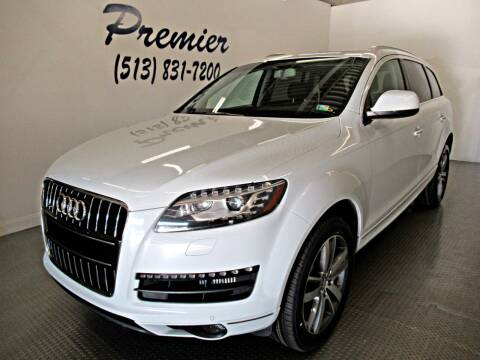 2015 Audi Q7 for sale at Premier Automotive Group in Milford OH