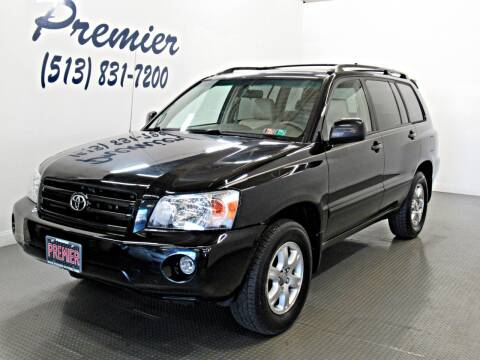 2007 Toyota Highlander for sale at Premier Automotive Group in Milford OH