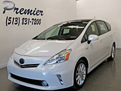 2013 Toyota Prius v for sale at Premier Automotive Group in Milford OH