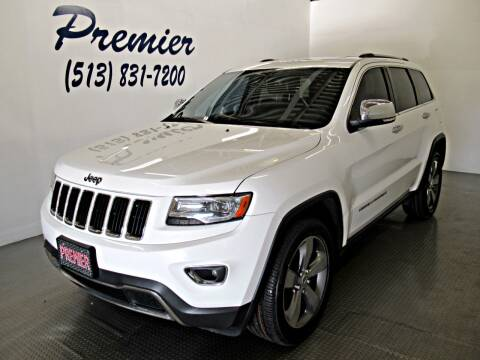2014 Jeep Grand Cherokee for sale at Premier Automotive Group in Milford OH