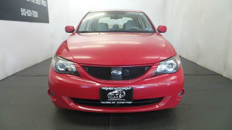 2008 Subaru Impreza for sale at Premier Automotive Group in Milford OH