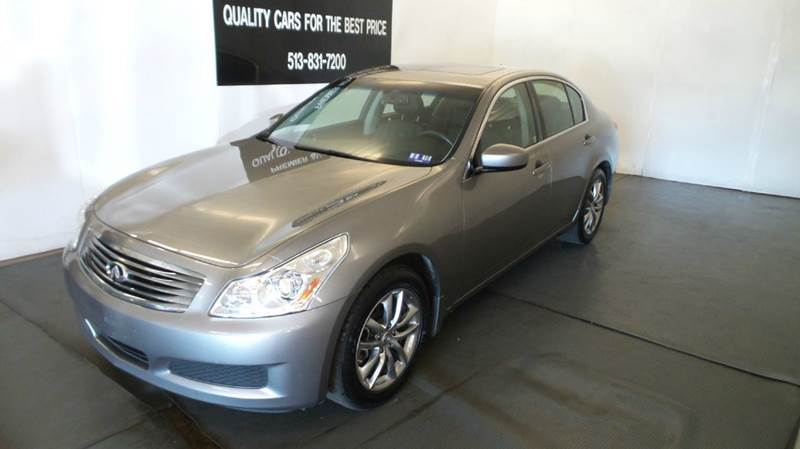 2009 Infiniti G37 Sedan for sale at Premier Automotive Group in Milford OH