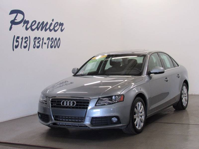 2011 Audi A4 for sale at Premier Automotive Group in Milford OH