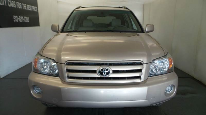 2006 Toyota Highlander for sale at Premier Automotive Group in Milford OH