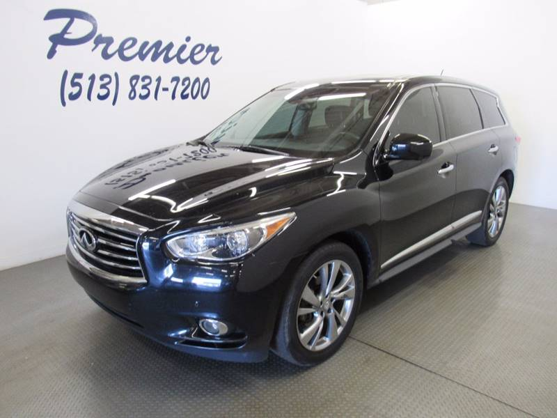 2013 Infiniti JX35 for sale at Premier Automotive Group in Milford OH