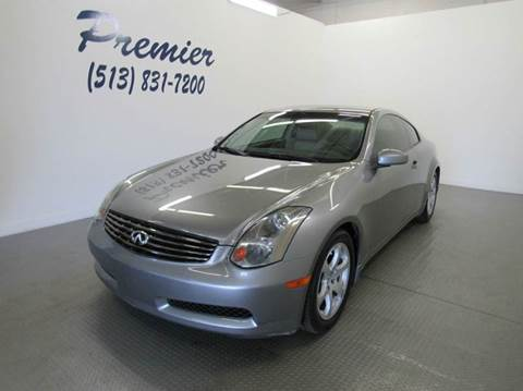 2005 Infiniti G35 for sale at Premier Automotive Group in Milford OH