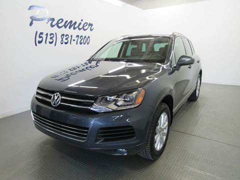 2012 Volkswagen Touareg for sale in Milford, OH