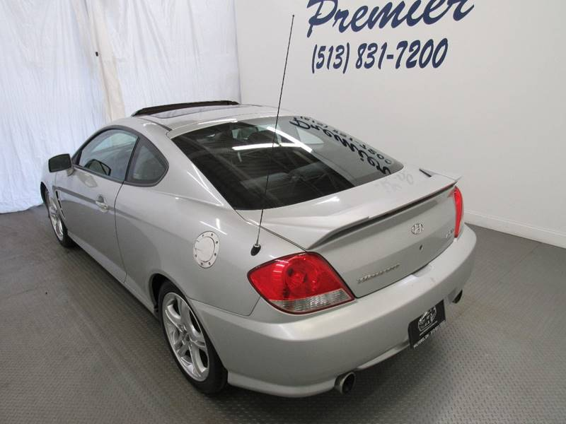 2006 Hyundai Tiburon for sale at Premier Automotive Group in Milford OH