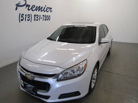 2015 Chevrolet Malibu for sale at Premier Automotive Group in Milford OH