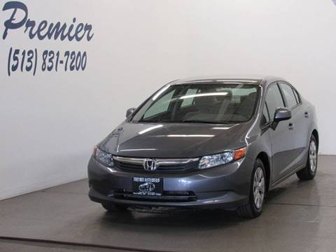 2012 Honda Civic for sale in Milford, OH