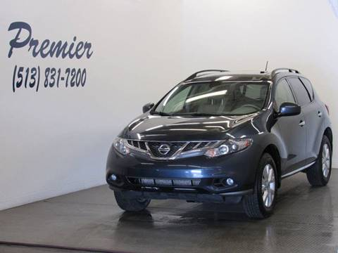 2014 Nissan Murano for sale at Premier Automotive Group in Milford OH