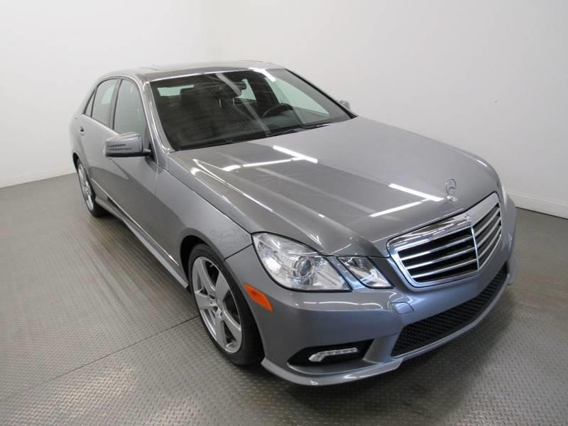 2011 Mercedes-Benz E-Class for sale at Premier Automotive Group in Milford OH