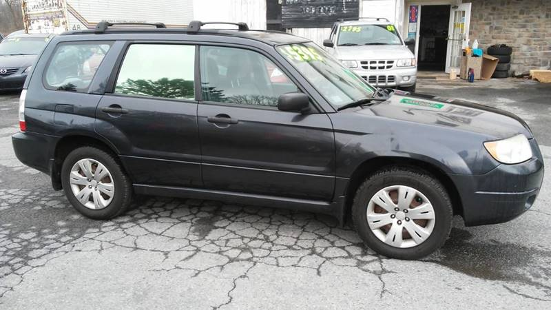 2008 Subaru Forester AWD 2 5 X 4dr Wagon 4A In Coplay PA
