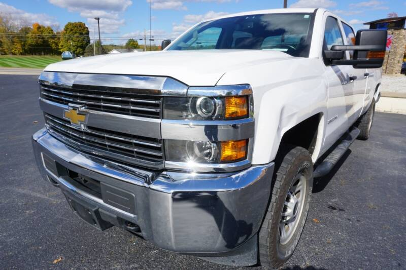 2017 Chevrolet Silverado 3500HD 4x4 Work Truck 4dr Crew Cab LB SRW - Mount Vernon OH