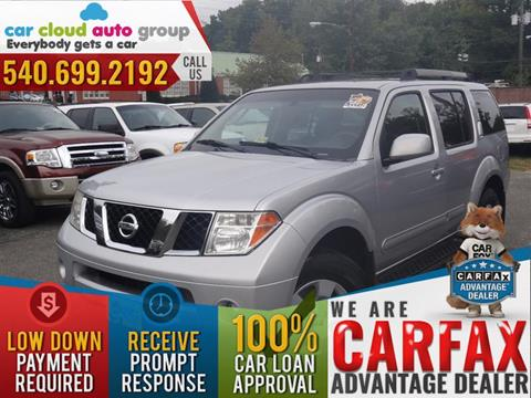 2007 Nissan Pathfinder for sale in Stafford, VA