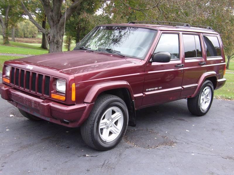 2001 Jeep Cherokee Limited 4WD 4dr SUV In Marietta OH  BILL