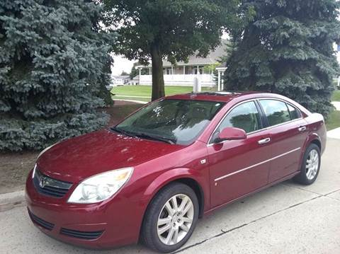 2008 Saturn Aura for sale at Heartbeat Used Cars & Trucks in Harrison Twp MI