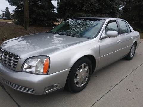 2005 Cadillac DeVille for sale at Heartbeat Used Cars & Trucks in Harrison Twp MI