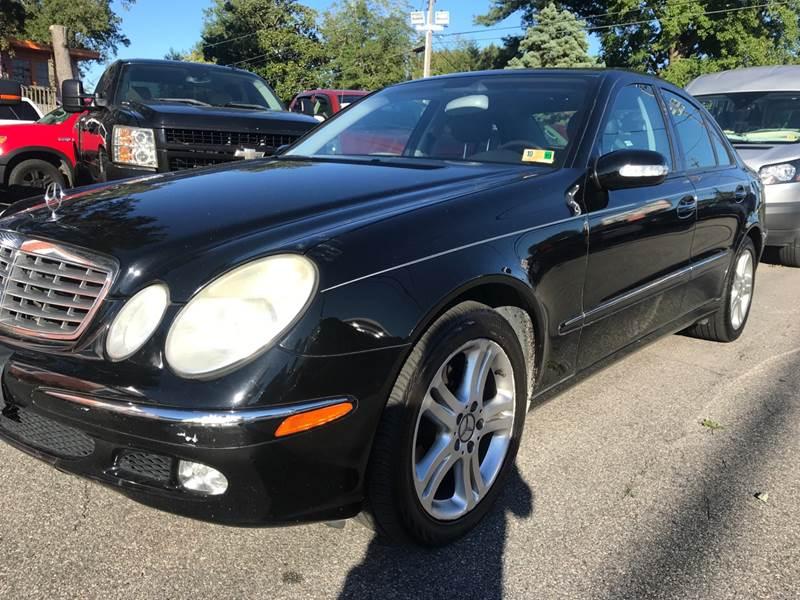 2005 Mercedes Benz E Class AWD E 500 4MATIC 4dr Sedan   Virginia Beach
