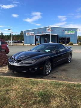 2001 Pontiac Firebird for sale in Dillwyn, VA