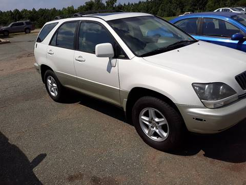 2000 Lexus RX 300 for sale at Lighthouse Truck and Auto LLC in Dillwyn VA