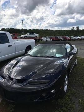 1999 Pontiac Firebird for sale in Dillwyn, VA