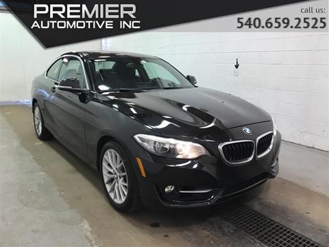 2016 BMW 2 Series for sale in Dumfries, VA