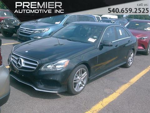2014 Mercedes-Benz E-Class for sale in Dumfries, VA
