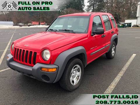 2003 Jeep Liberty for sale in Post Falls, ID