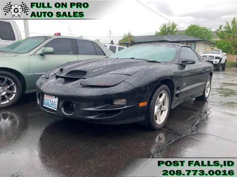 2001 Pontiac Firebird for sale in Coeur D'Alene, ID