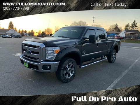 2015 Ford F-350 Super Duty for sale at Full On Pro Auto in Coeur D'Alene ID