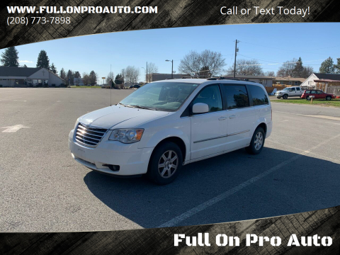 2010 Chrysler Town and Country for sale at Full On Pro Auto in Coeur D'Alene ID