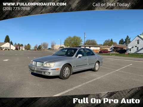 2004 Hyundai XG350 for sale at Full On Pro Auto in Coeur D'Alene ID