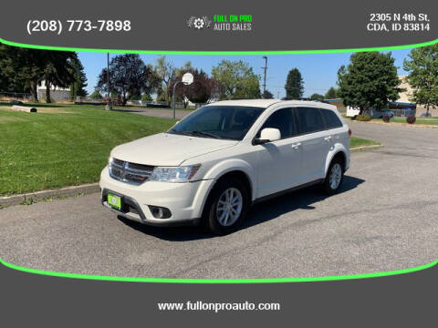 2013 Dodge Journey for sale at Full On Pro Auto in Coeur D'Alene ID