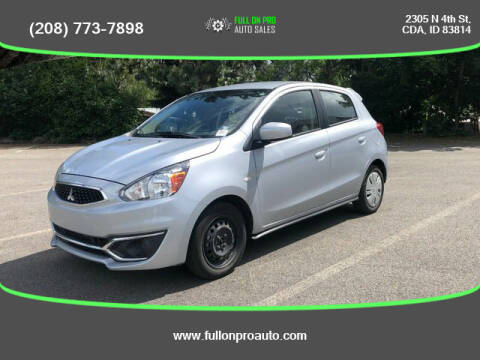 2018 Mitsubishi Mirage for sale at Full On Pro Auto in Coeur D'Alene ID