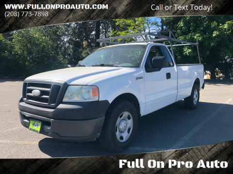 2008 Ford F-150 XLT for sale at Full On Pro Auto in Coeur D'Alene ID