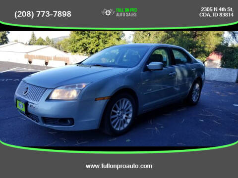 2007 Mercury Milan for sale at Full On Pro Auto in Coeur D'Alene ID