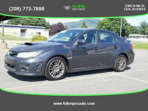 2013 Subaru Impreza for sale at Full On Pro Auto in Coeur D'Alene ID