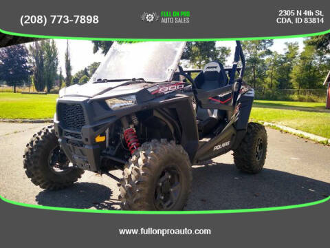 2017 Polaris 900 s for sale at Full On Pro Auto in Coeur D'Alene ID
