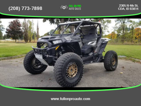 2017 Polaris RZR XP TURBO for sale at Full On Pro Auto in Coeur D'Alene ID