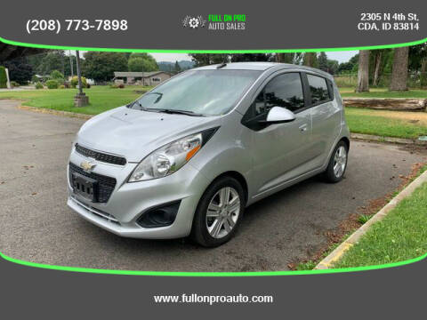 2014 Chevrolet Spark for sale at Full On Pro Auto in Coeur D'Alene ID