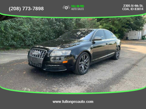2008 Audi S6 for sale at Full On Pro Auto in Coeur D'Alene ID