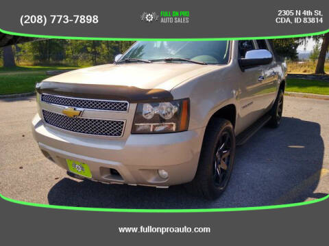 2008 Chevrolet Avalanche for sale at Full On Pro Auto in Coeur D'Alene ID