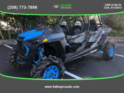 2019 Polaris RZR XP4 TURBO for sale at Full On Pro Auto in Coeur D'Alene ID